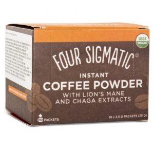Four Sigmatic Ekologiskt Kaffe Instant Lion's Mane & Chaga