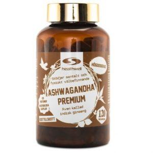 Healthwell Ashwagandha Premium bästa ashwagandha