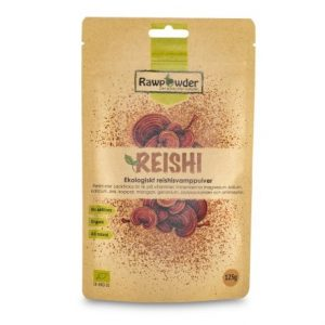 Rawpowder Reishi Svamp Pulver EKO