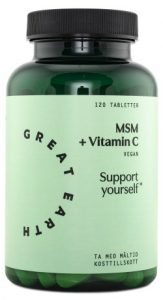 Great Earth MSM + Vitamin C