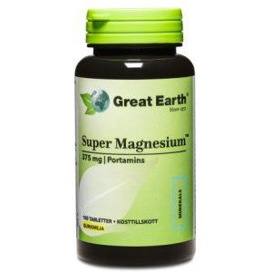 Great Earth Super Magnesium bästa magnesiumtillskotten