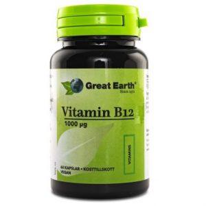 Great Earth Vitamin B12 1000 mcg Vegan