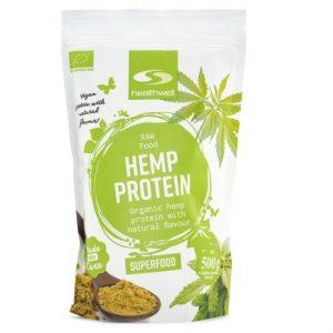 Healthwell Hampaprotein EKO bästa veganska proteinpulver