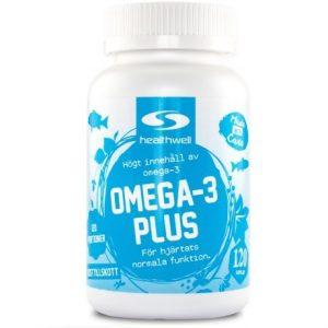 Healthwell Omega 3 plus  bästa omega 3