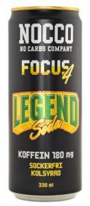 NOCCO Focus 4 Legend Soda